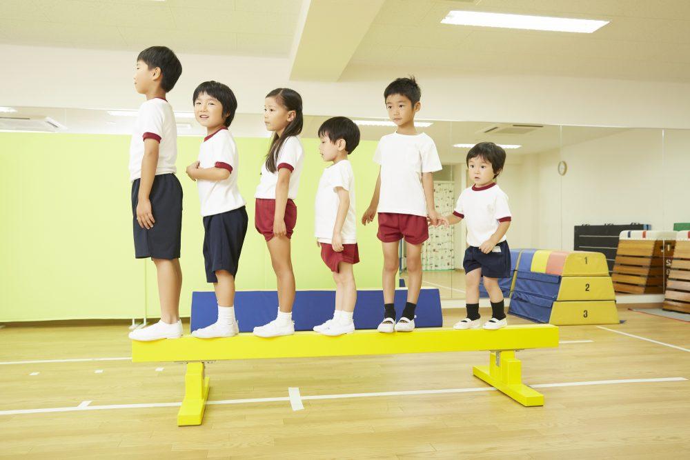 子どもが体操を始めるなら幼児期からが一番ふさわしい!
