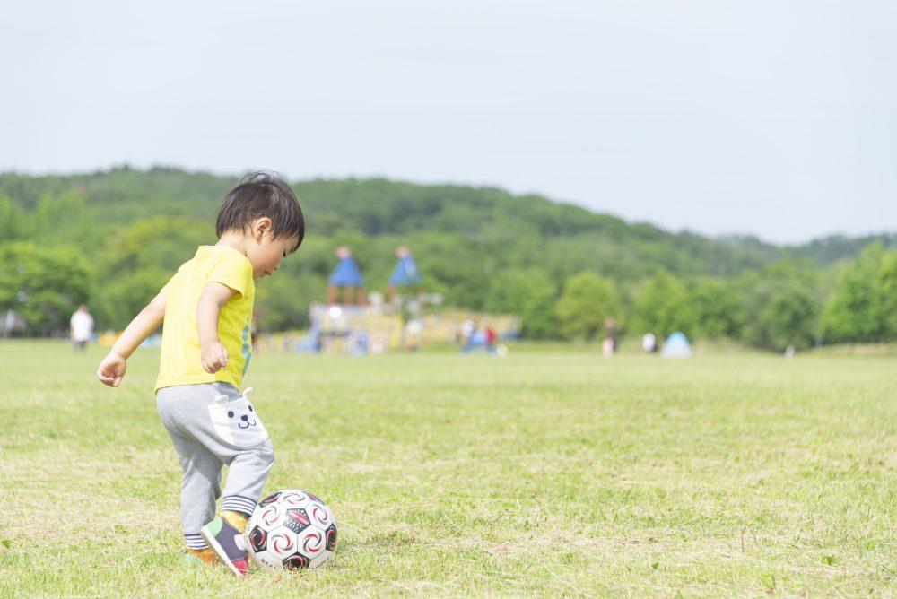 子どもがサッカーを始めるのであればできるだけ早めのほうがいい!